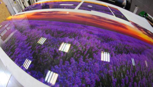 Wydruki na szkle panele szklane