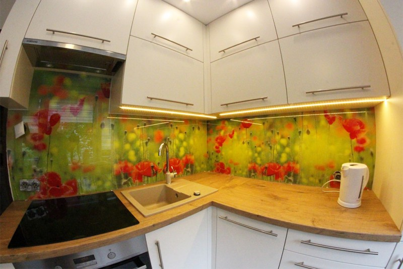 Panele szklane do kuchni i łazienki