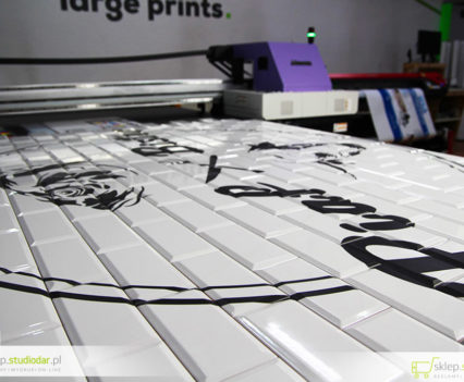 druka na płytkach ceramicznych do restauracji