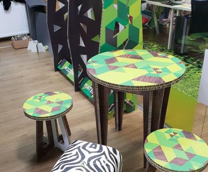 allison board stół i krzesla