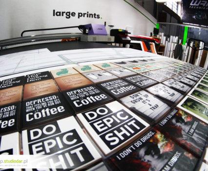 druka na płytkach